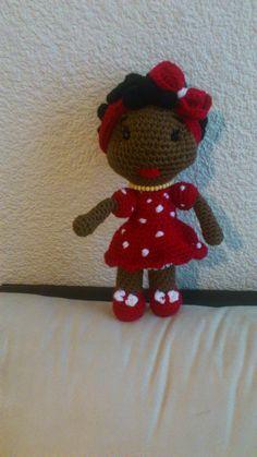 Amigurumi Black Girl - FREE Crochet Pattern / Tutorial