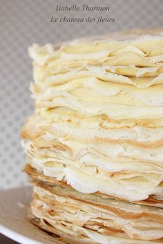 """""""Isabelle Thornton"""" Le Chateau des Fleurs: Best French crepes and fillings recipe"""