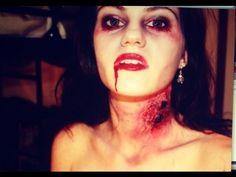 Vampire Victim / ZOMBIE makeup