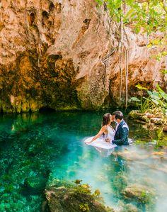 Tropical Destination Wedding in Playa Del Carmen, Mexico