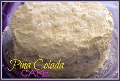 sweet tea, colada cake