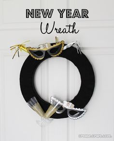 New Year Wreath