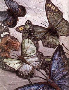 Annemieke Mein's  textile art