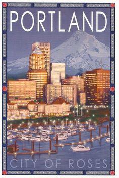 City Of Roses Portland, Oregon