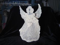 3D Free Standing Lace Angel  des pattern by stitch delight