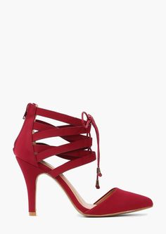 Willow Lace Up Pump.