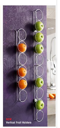 Fruit Cubbies