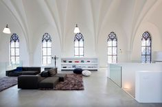 CONVERTED CHURCH: Church conversion into a residence in Utrecht by Zecc. 9/23/2012 via @Yatzer