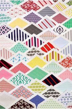 Envelope Interior Prints: From the amazing Mr. Boddington's Studio