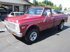 1971 Chevrolet Pickup For Sale
