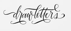 draw letters // pilot g2:3226- Purveyors of all things Imaginative and Beautiful  #boutique #jewelry #homedecor #home #accessories #wedding #letterpress #custom #stationary #fashion #clothes #cards #leather #albums #photo #bride #groom #invitations www.ThirtyTwoTwentySix.com