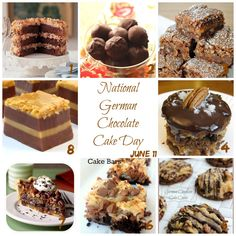 National German Chocolate Cake Day from @Donna Hup