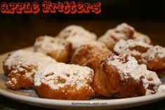 Apple Fritters for Chanukah