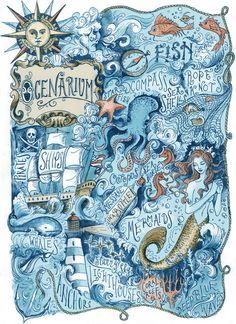 Ocenarium   Biljana Kroll   Print