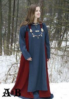 Viking womans apron dress