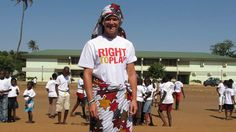 Professional golfer Suzann Pettersen travels to Mozambique for Right To Play | LPGA