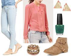 Fab Find: Old Navy Railroad Stripe Jeans - Polished & Ladylike