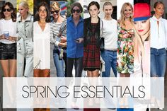 From Elle: How to Revamp Your Spring Wardrobe Now-- on the list