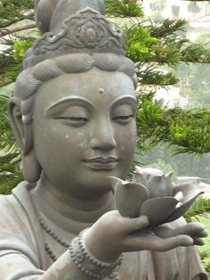 Green Tara-In Buddhist tradition, Tara is actually much greater than a goddess -- she is a female Buddha, an enlightened one who has attained the highest wisdom, capability and compassion. . . one who can take human form and who remains in oneness with the every living thing.