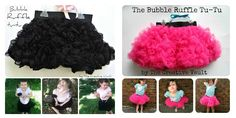 Tutorial for making a bubble tutu