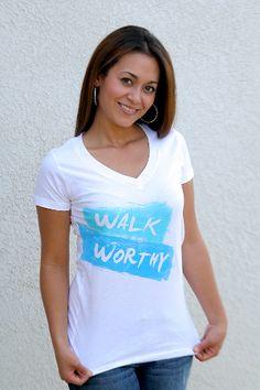 Walk Worthy V-neck  