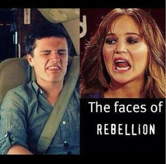 I can't help myself.  Josh Hutcherson & Jennifer Lawernce.