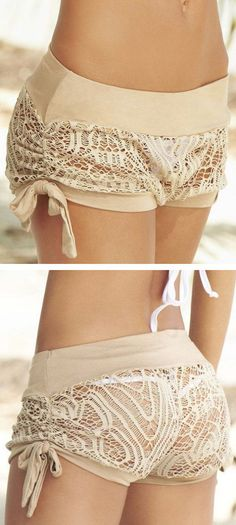 Crochet Cover-Up Shorts // cUte!