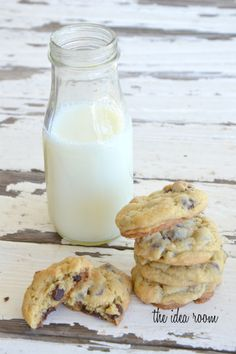 chocolate chip pudding cookies:) ...Those look yummy. Now I'm craving cookies! :)