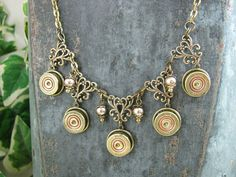 Shotgun Casing Jewelry  Bullet Jewelry  Authentic 410 by thekeyofa