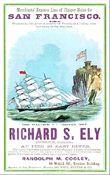 Clipper ship cards a