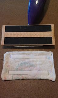 Swiffer cover tutorial with an old washcloth :-)