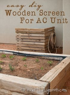 Make a Screen for Your AC Unit