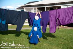 Interview with Bill Coleman, Photographer. Image of Amish Laundry Day