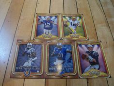 #2013Topps #InsertLot 5 #AaronRodgers #AndrewLuck #TomBrady #CalvinJohnsonJr | #eBay #footballcards #NFL