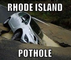 Thanks to Tom Regan for this fun #ripothole photo -- we lol'd