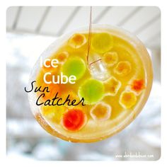 Ice Cube Sun Catcher