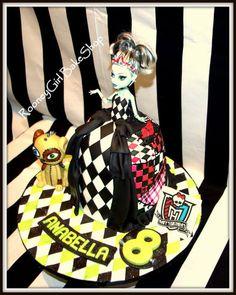 rankie Stein Doll Cake  Cake by rooneygirl