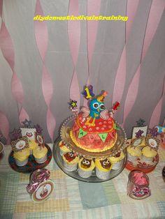 Happy 1st Birthday (Owl Style) Hadley! | DIY Domestic Diva in Training birthday parti, train birthday, birthday idea, 1st birthdays