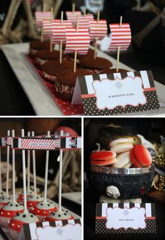 Anniversaire theme pirate on pinterest pirate cakes - Idees deco table anniversaire ...