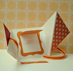 a twist on a mini card-this is so cute, really easy but makes a big impact!