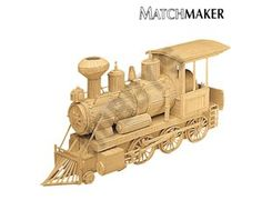 This Matchmaker Locomotive includes everything needed to make this matchstick model kit.  Included are all the pre-cut card formers along with the glue, matchticks and full instructions. These instructions will guide you through each stage of the construction until you finally achieve the finished product.  We would highly recommend this Matchmaker Locomotive.    Approx size of finished model: 330mm long, 102mm wide; 190mm high.