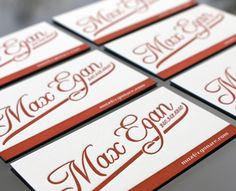 Letterpress Business Cards by Print - http://creattica.com