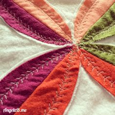 Fall Leaves Table Runner and Coasters by Angela Bowman of www.AngelaB.me #turkeytablescapes