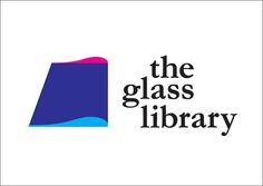 the glass library logo