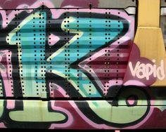 "The Graffiti Letter ""K""..."