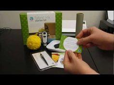 Fabric Ink Starter Kit 101