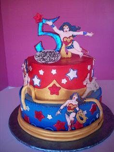 Wonder woman cake :)
