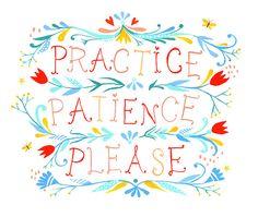 Patience! by katiedaisy