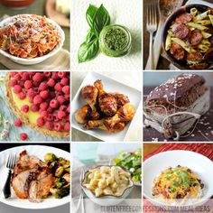 Gluten Free Meal Ideas