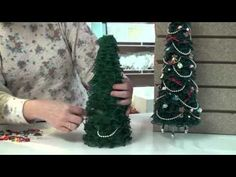 ▶ Project: Lace Christmas Tree - YouTube